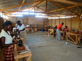 Mozambique sewing machine project