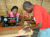 Mozambique sewing machine tutor